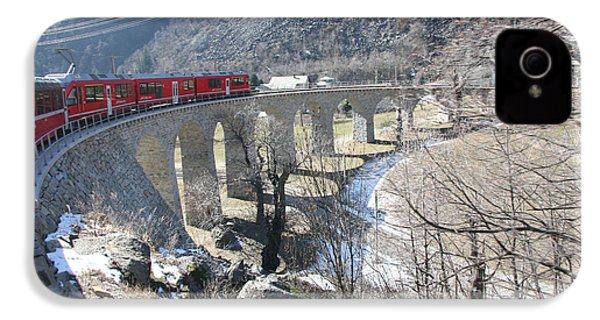 Bernina Express In Winter IPhone 4 Case