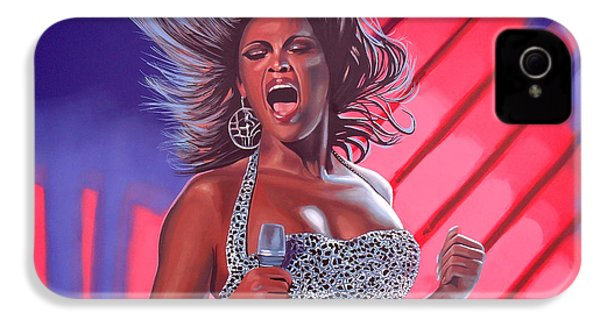 Beyonce IPhone 4 Case by Paul Meijering