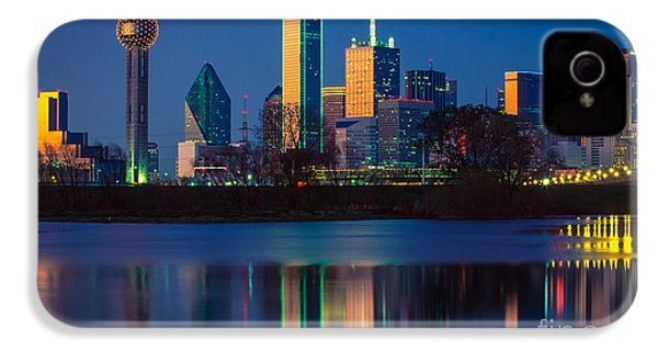 Big D Reflection IPhone 4 Case by Inge Johnsson