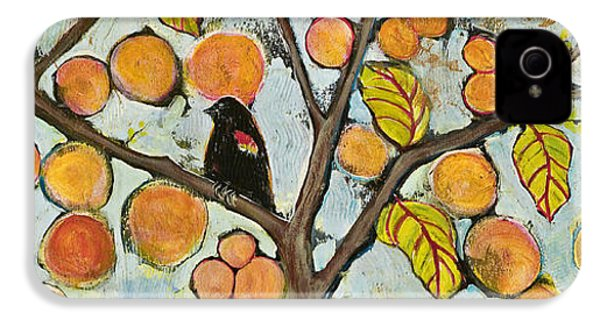 Birds In Paris Landscape IPhone 4 / 4s Case by Blenda Studio