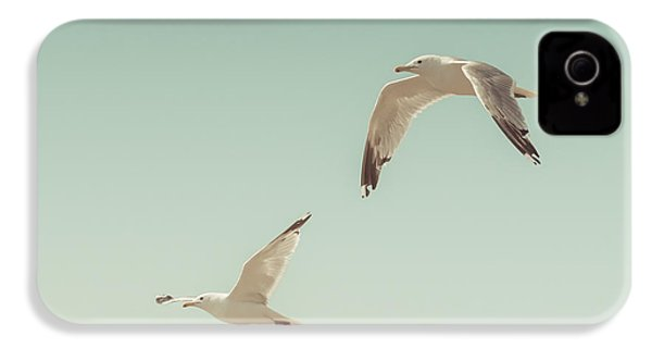 Birds Of A Feather IPhone 4 / 4s Case by Lucid Mood