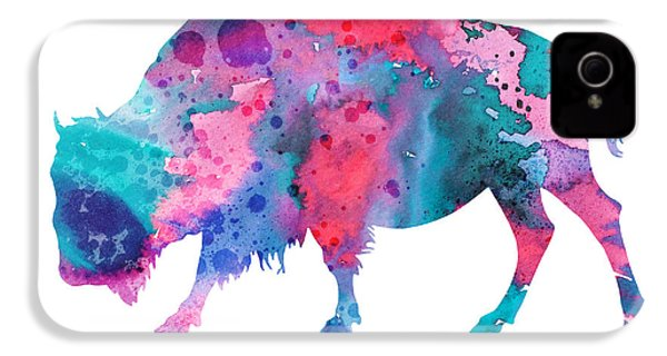 Bison 2 IPhone 4 / 4s Case by Luke and Slavi