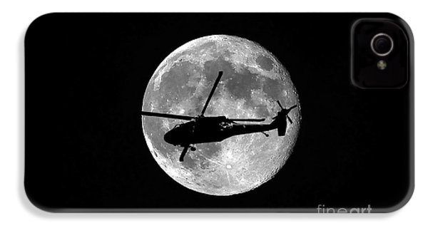 Black Hawk Moon IPhone 4 Case