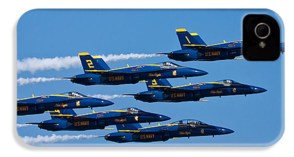 Blue Angels IPhone 4 / 4s Case by Adam Romanowicz