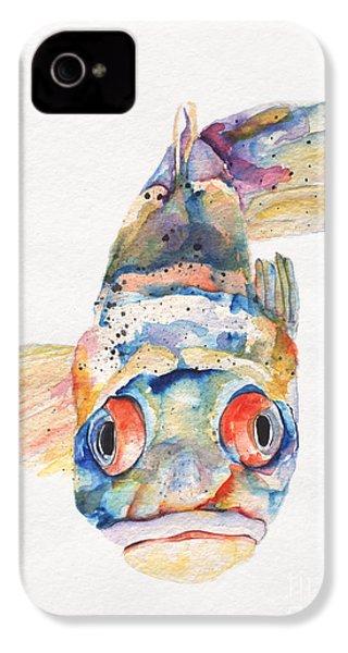 Blue Fish   IPhone 4 Case
