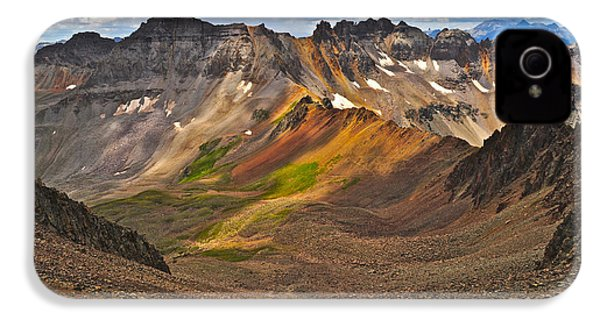 Blue Lakes Pass IPhone 4 Case by Aaron Spong