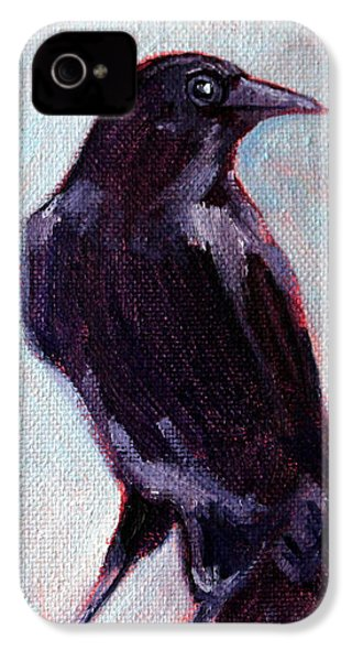 Blue Raven IPhone 4 Case