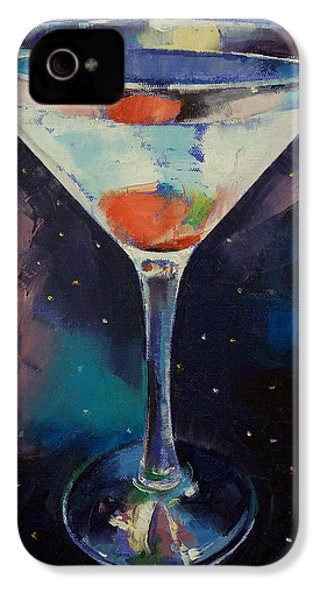 Bombay Sapphire Martini IPhone 4 / 4s Case by Michael Creese