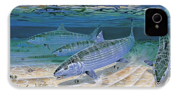 Bonefish Flats In002 IPhone 4 Case by Carey Chen