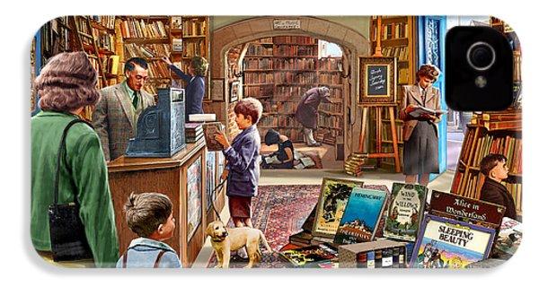 Bookshop IPhone 4 Case by Steve Crisp