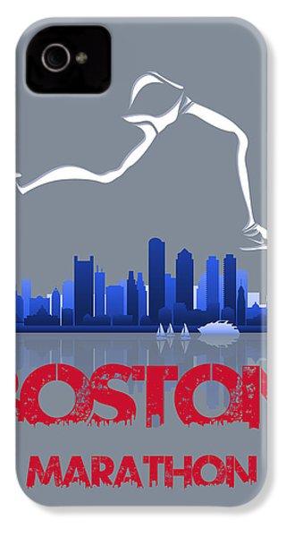 Boston Marathon3 IPhone 4 Case