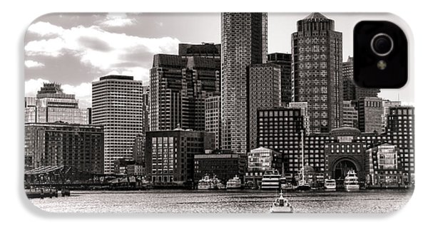 Boston IPhone 4 Case by Olivier Le Queinec