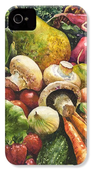 Bountiful IPhone 4 Case by Anne Gifford