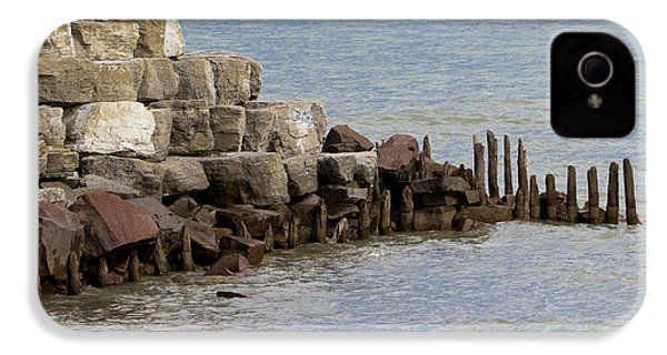 IPhone 4 Case featuring the photograph Breakwater by Ricky L Jones