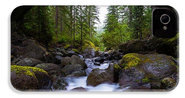 Bridge Below Rainier IPhone 4 Case