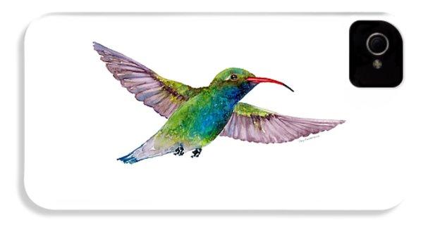 Broad Billed Hummingbird IPhone 4 / 4s Case by Amy Kirkpatrick