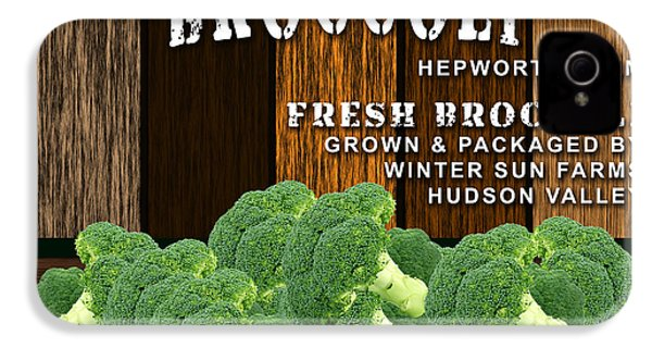 Broccoli Farm IPhone 4 / 4s Case by Marvin Blaine
