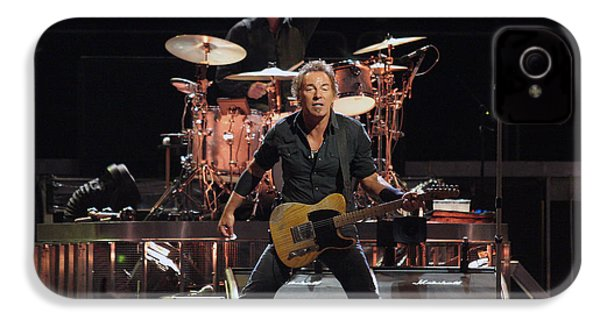 Bruce Springsteen In Concert IPhone 4 Case by Georgia Fowler