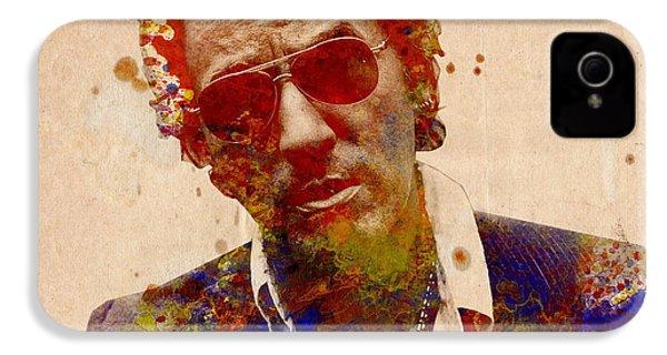 Bruce Springsteen IPhone 4 / 4s Case by Bekim Art