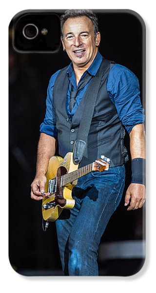 Bruce Springsteen IPhone 4 / 4s Case by Georgia Fowler