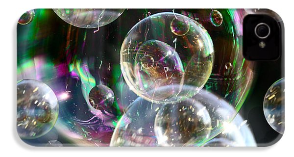 Bubbles And More Bubbles IPhone 4 Case by Nareeta Martin