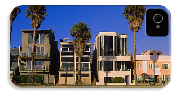 Buildings In A City, Venice Beach, City IPhone 4 / 4s Case by Panoramic Images