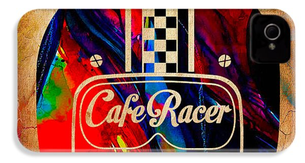 Cafe Racer Motorcycles IPhone 4 / 4s Case by Marvin Blaine