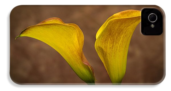 IPhone 4 Case featuring the photograph Calla Lilies by Sebastian Musial