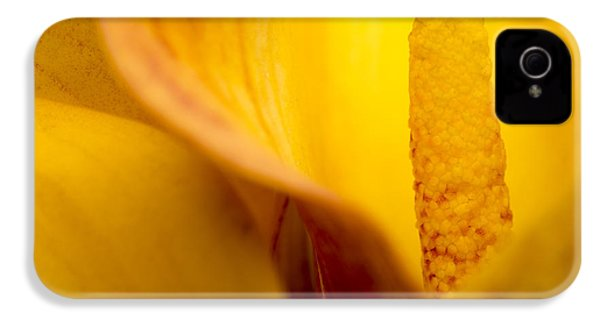 IPhone 4 Case featuring the photograph Calla Lily by Sebastian Musial