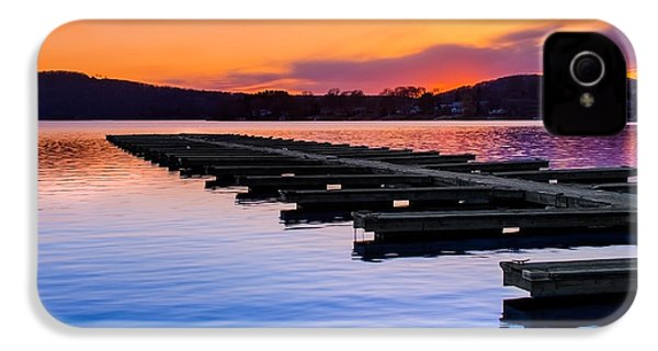 Candlewood Lake IPhone 4 Case by Bill Wakeley