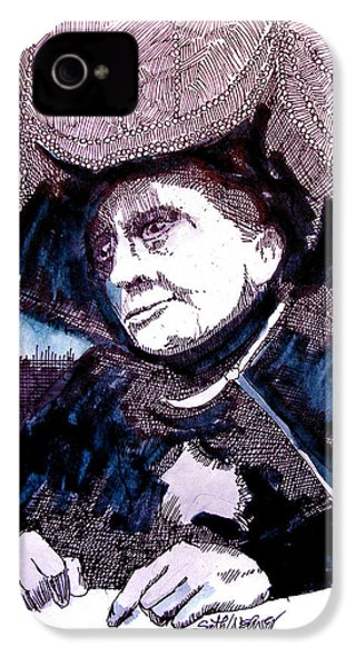 Carnak Tribute To Johnny Carson IPhone 4 Case by Seth Weaver