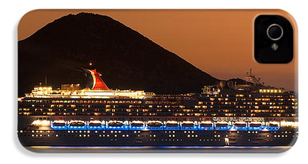 Carnival Splendor At Cabo San Lucas IPhone 4 Case by Sebastian Musial