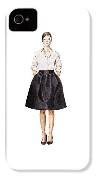 Carolina Herrera Classic Look IPhone 4 / 4s Case by Jazmin Angeles