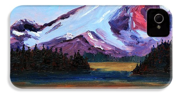 Cascade Light IPhone 4 Case by Nancy Merkle