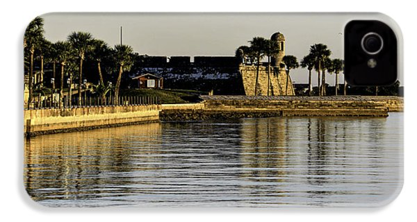 Castillo De San Marcos IPhone 4 Case by Anthony Baatz