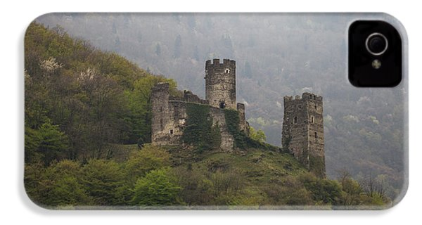 Castle In The Mountains. IPhone 4 Case