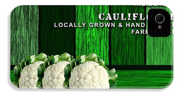 Cauliflower Farm IPhone 4 Case