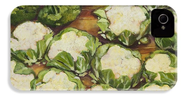 Cauliflower March IPhone 4 / 4s Case by Jen Norton