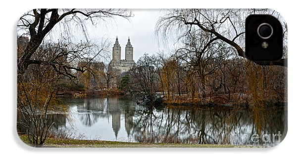 Central Park And San Remo Building In The Background IPhone 4 Case by RicardMN Photography