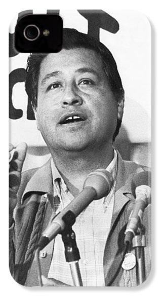 Cesar Chavez Announces Boycott IPhone 4 Case by Underwood Archives