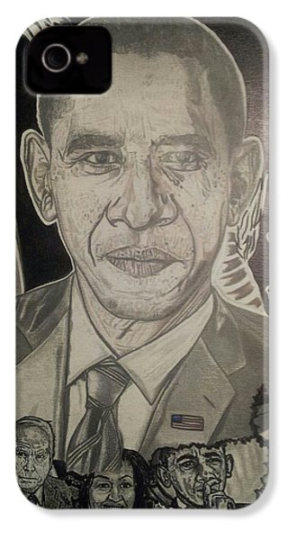 Change Yes We Can IPhone 4 / 4s Case by Demetrius Washington