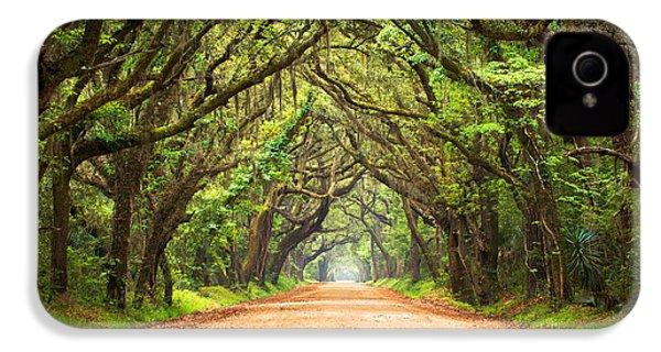 Charleston Sc Edisto Island - Botany Bay Road IPhone 4 Case by Dave Allen