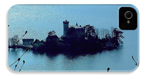 Chateau Sur Lac IPhone 4 Case by Marc Philippe Joly