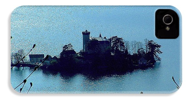 IPhone 4 Case featuring the photograph Chateau Sur Lac by Marc Philippe Joly