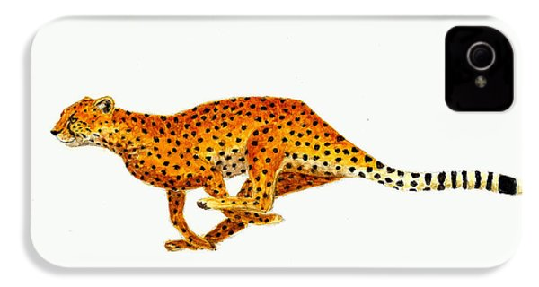 Cheetah IPhone 4 Case by Michael Vigliotti