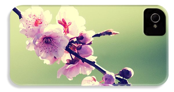 IPhone 4 Case featuring the photograph Cherry Blooms by Yulia Kazansky