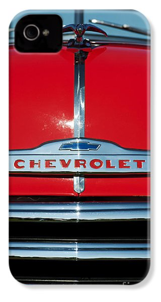 Chevrolet 3100 1953 Pickup IPhone 4 Case by Tim Gainey