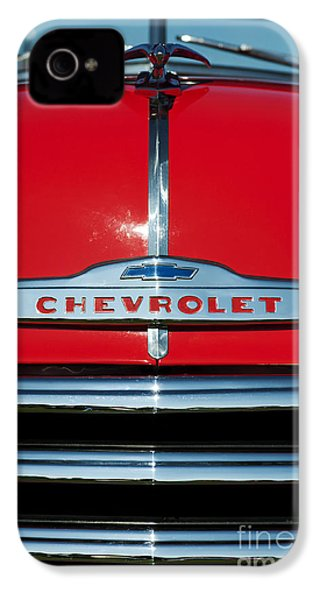 Chevrolet 3100 1953 Pickup IPhone 4 / 4s Case by Tim Gainey