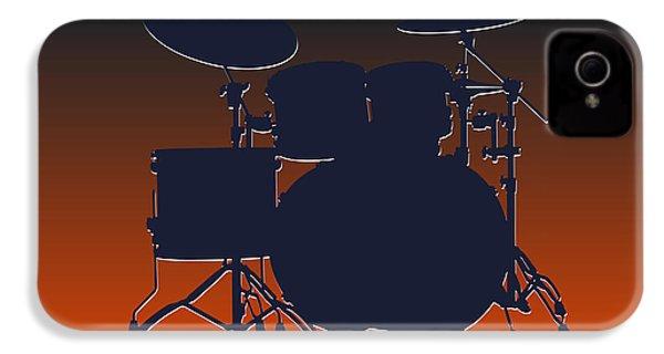 Chicago Bears Drum Set IPhone 4 Case by Joe Hamilton