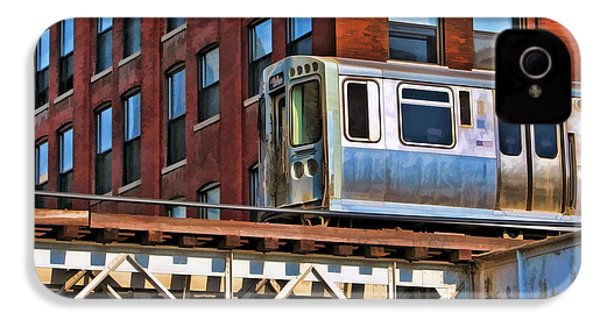 Chicago El And Warehouse IPhone 4 Case by Christopher Arndt